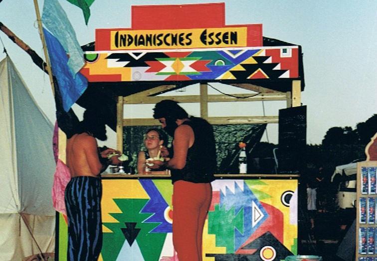 allererstes Festival 1994 in Ingelheim